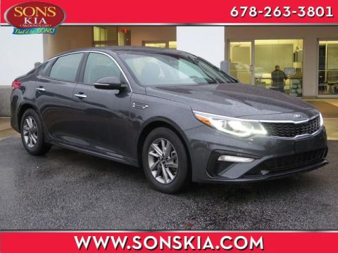 Certified Pre-Owned 2019 Kia Optima FWD 4dr Car