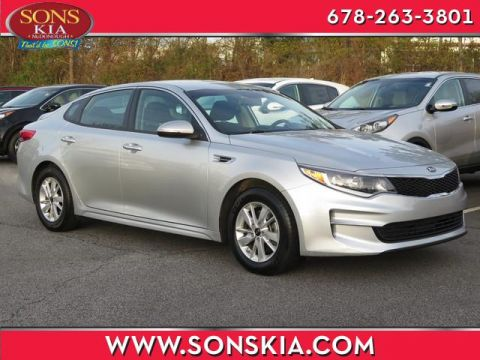 Certified Pre-Owned 2018 Kia Optima LX Front Wheel Drive LX Auto