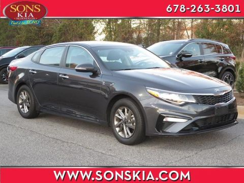 Certified Pre-Owned 2019 Kia Optima LX Front Wheel Drive LX Auto