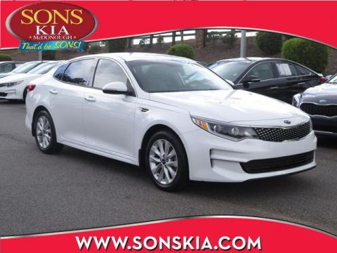 Certified Pre-Owned 2017 Kia Optima EX FWD 4dr Car