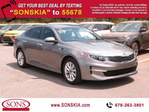 Certified Pre-Owned 2016 Kia Optima EX Front Wheel Drive 4dr Sdn EX