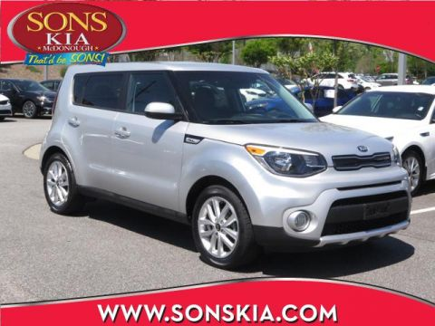 Certified Pre-Owned 2018 Kia Soul + FWD 4dr Car