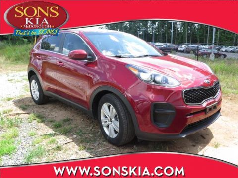 Certified Pre-Owned 2017 Kia Sportage